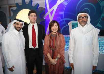 Challenge 22 final 2017 - Hassan Al Thawadi and Randi Zuckerberg Qatar