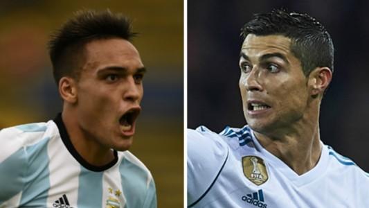 Cristiano Ronaldo Lautaro Martinez