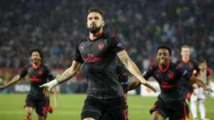 Olivier Giroud Red Star Belgrade Arsenal 19102017
