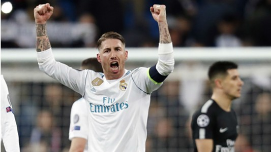Sergio Ramos Real Madrid PSG Champions League