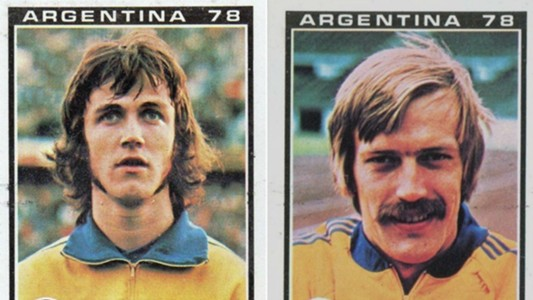 Ralf Edstrom y Staffan Tapper. Suecia. Mundial 1978