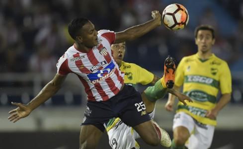Junior - Defensa y Justicia Copa Sudamericana 2018