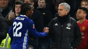 Willian, Jose Mourinho