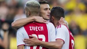 Hakim Ziyech, Zakaria Labyad, Ajax, Eredivisie 08182018