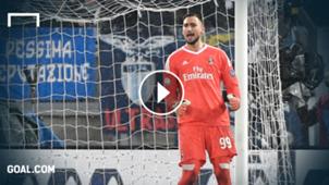 GFX Gianluigi Donnarumma AC Mailand Coppa Italia 28022018