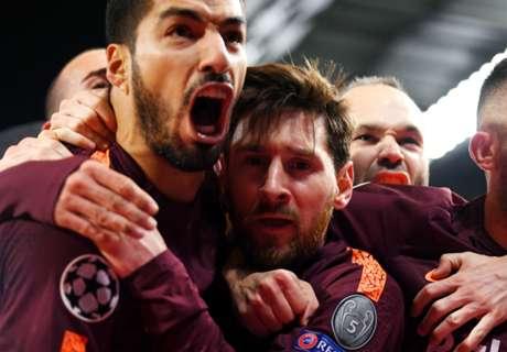 El XI Ideal con grandes amigos de Messi