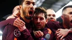 Suarez Messi Chelsea Barcelona Champions League