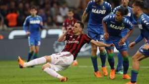 Nikola Kalinic Milan Sassuolo Serie A