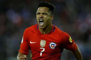 Alexis Sanchez Chile Japan Copa America 2019