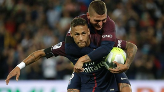 Neymar Marco Verratti PSG Toulouse Ligue 1 20082017