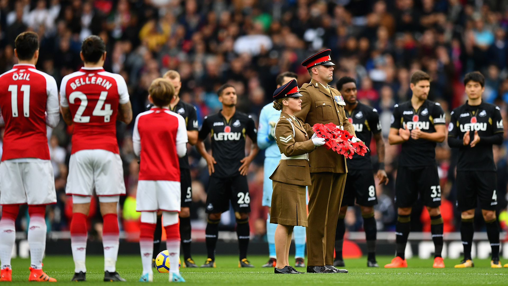 premier league the poppy why do uk players managers