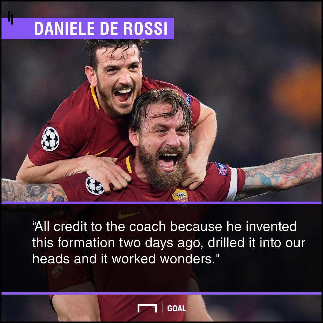 De Rossi Roma Barcelona PS