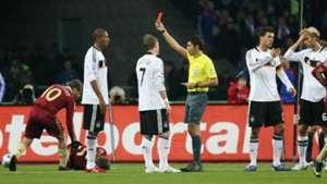 Jerome Boateng Germany Russia Debut 2009
