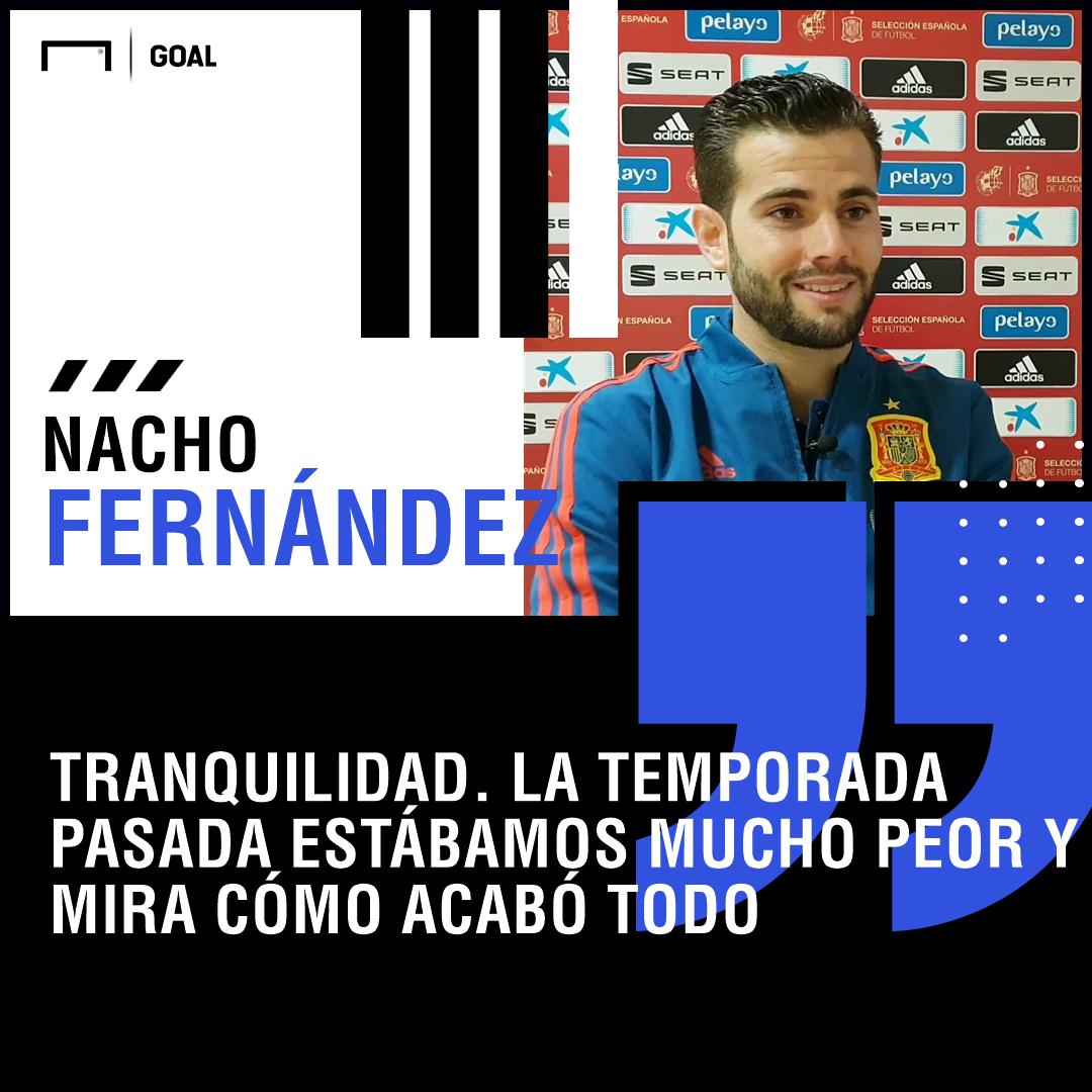 "f6c844f38 Nacho Fernández, en Goal: ""Estamos todos a muerte con Julen ..."