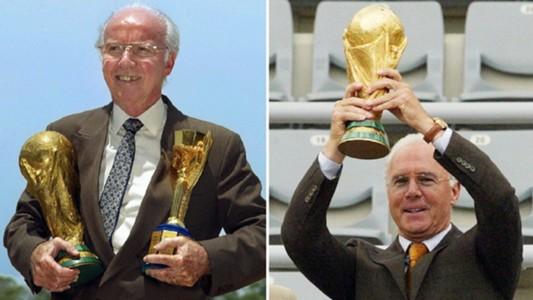 Mario Zagallo - Franz Beckenbauer - World Cup