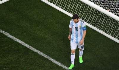 Lionel Messi Argentina Croatia World Cup 06/21/18