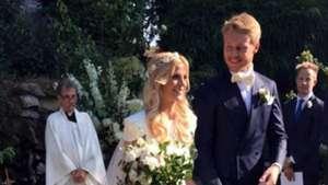 Simon Kjaer Wedding