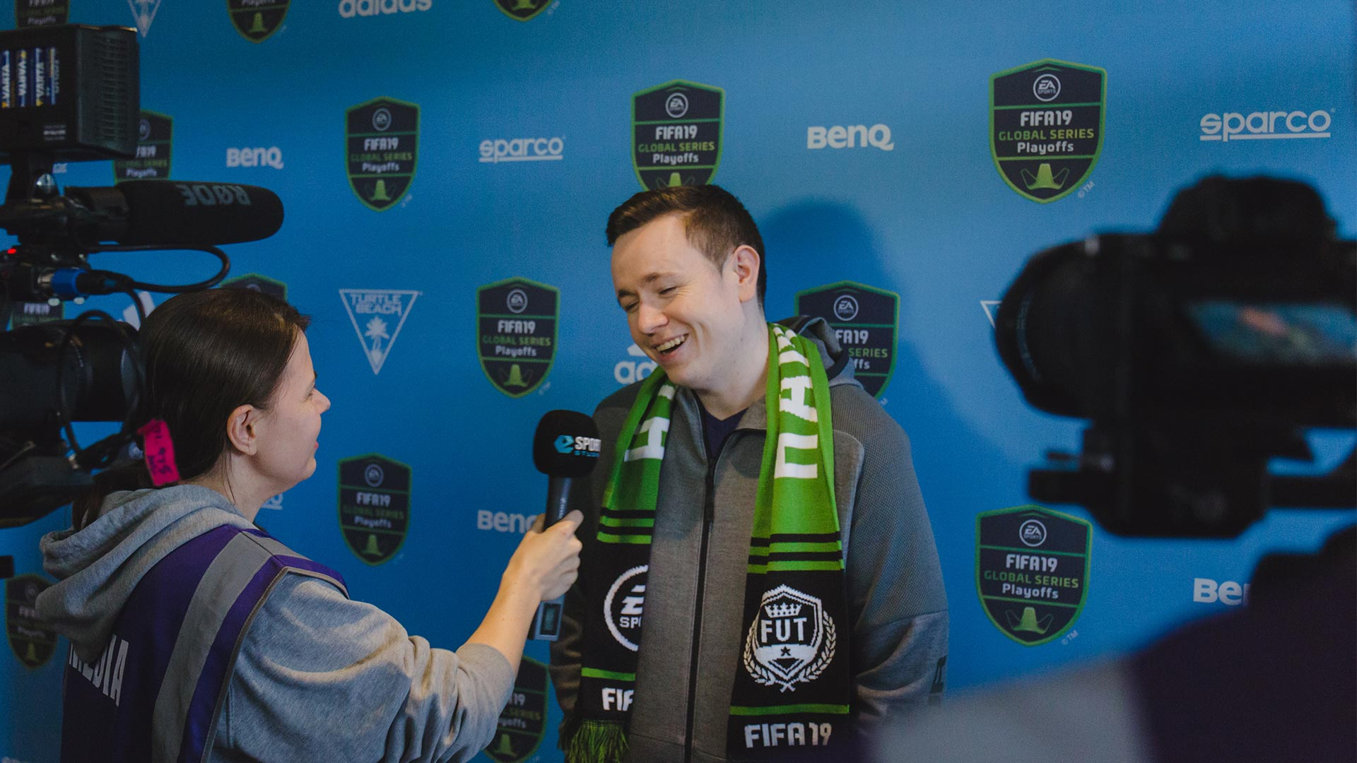 FIFA 19 Xbox Play-offs Rebel Stokes Interview
