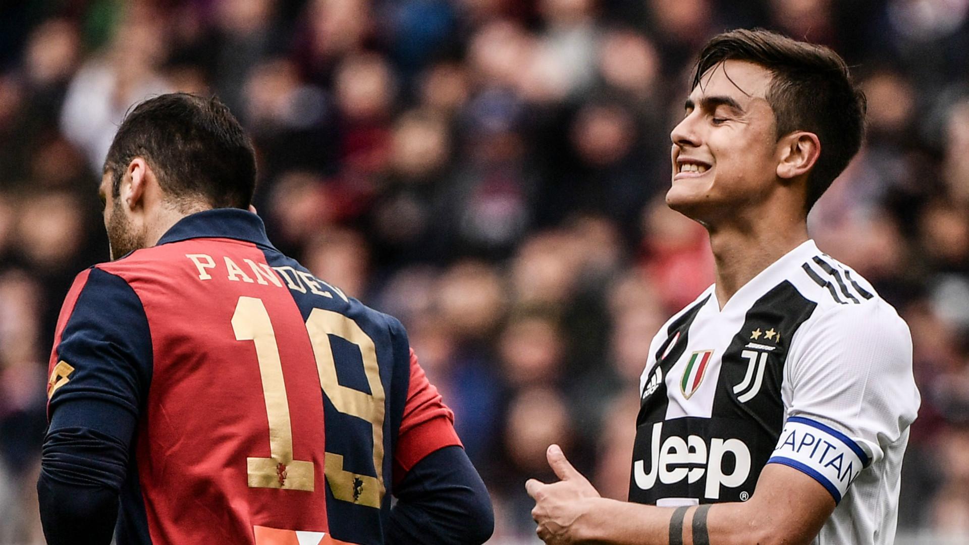 Paulo Dybala Goran Pandev Genoa Juventus