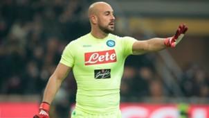 Pepe Reina Napoli Serie A 2016-17