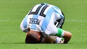 Lionel Messi Argentina France World Cup 2018 300618