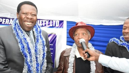 Eugine Wamalwa of AFC Leopards.