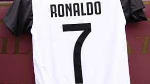 Cristiano Ronaldo Trikot Juventus Turin 14072018