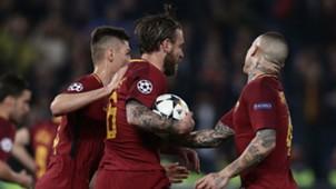 Daniele De Rossi Roma Barcelona Champions League
