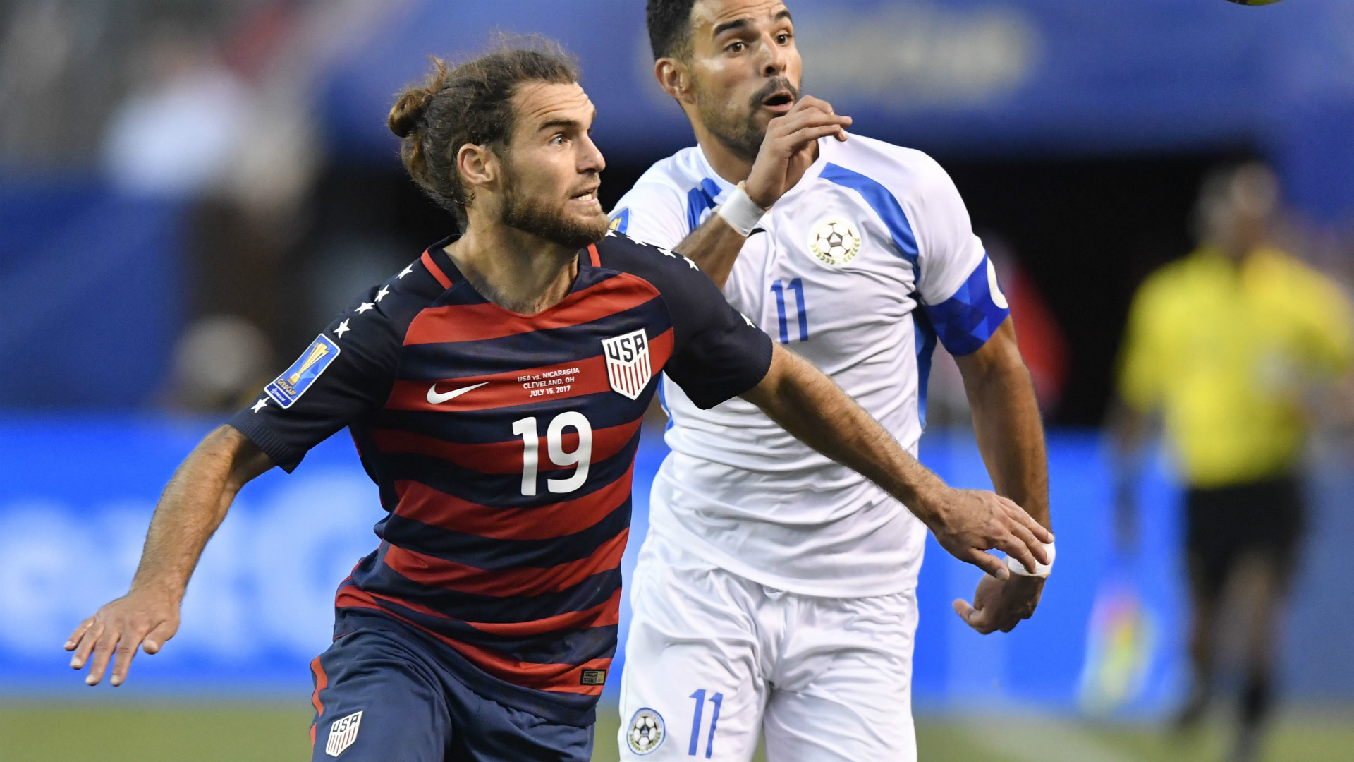 Graham Zusi USA Gold Cup