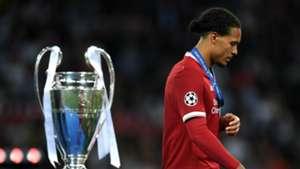 Virgil van Dijk Liverpool Champions League final 260518