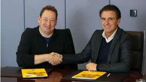 Leonid Slutsky, Marc van Hintum, Vitesse 03122018