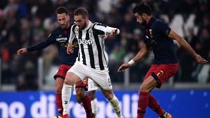 Gonzalo Higuain Juventus Genoa