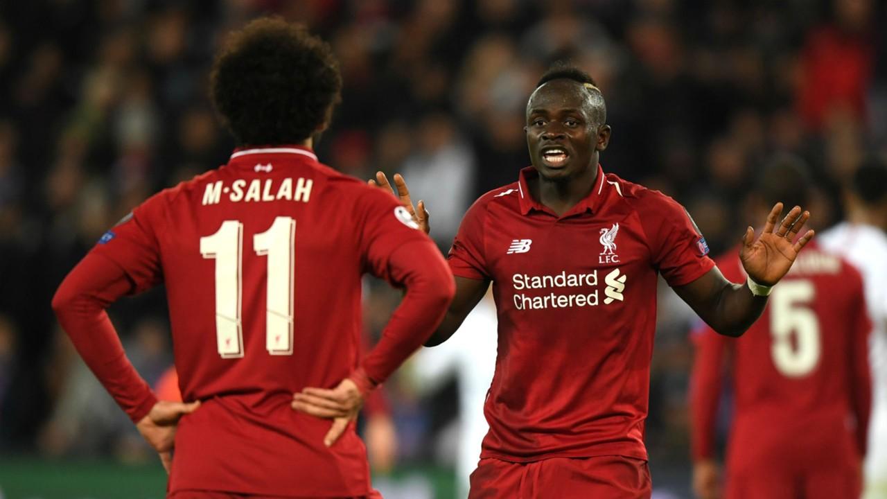 Salah Mane Liverpool Champions League 29 11 2018