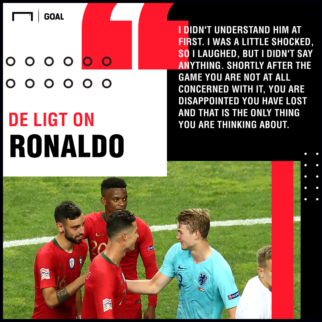 De Ligt admits Ronaldo's role in Juventus move
