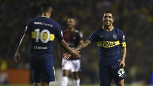 Cardona Tevez Boca Colon Superliga Fecha 13 27012018