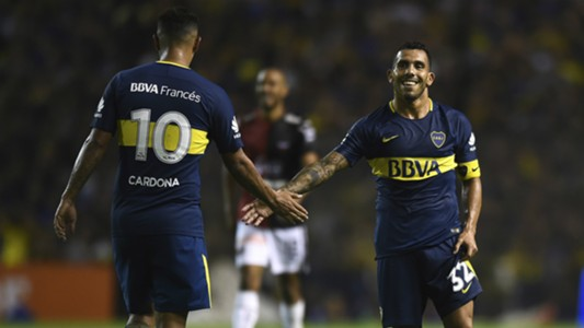 Cardona Tevez Boca Colon Superliga Fecha 13 27012018