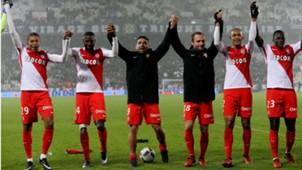 Kylian Mbappe Tiemoue Bakayoko Radamel Falcao Valere Germain Fabinho Benjamin Mendy Monaco Ligue 1