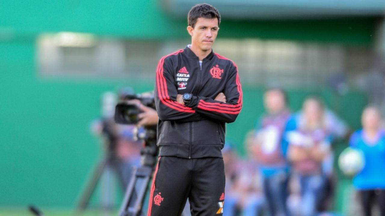 Mauricio Barbieri Chapecoense Flamengo Brasileirao Serie A 13052018