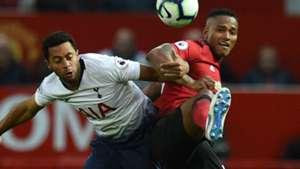 Mousa Dembele Antonio Valencia Tottenham Manchester United 2018-19