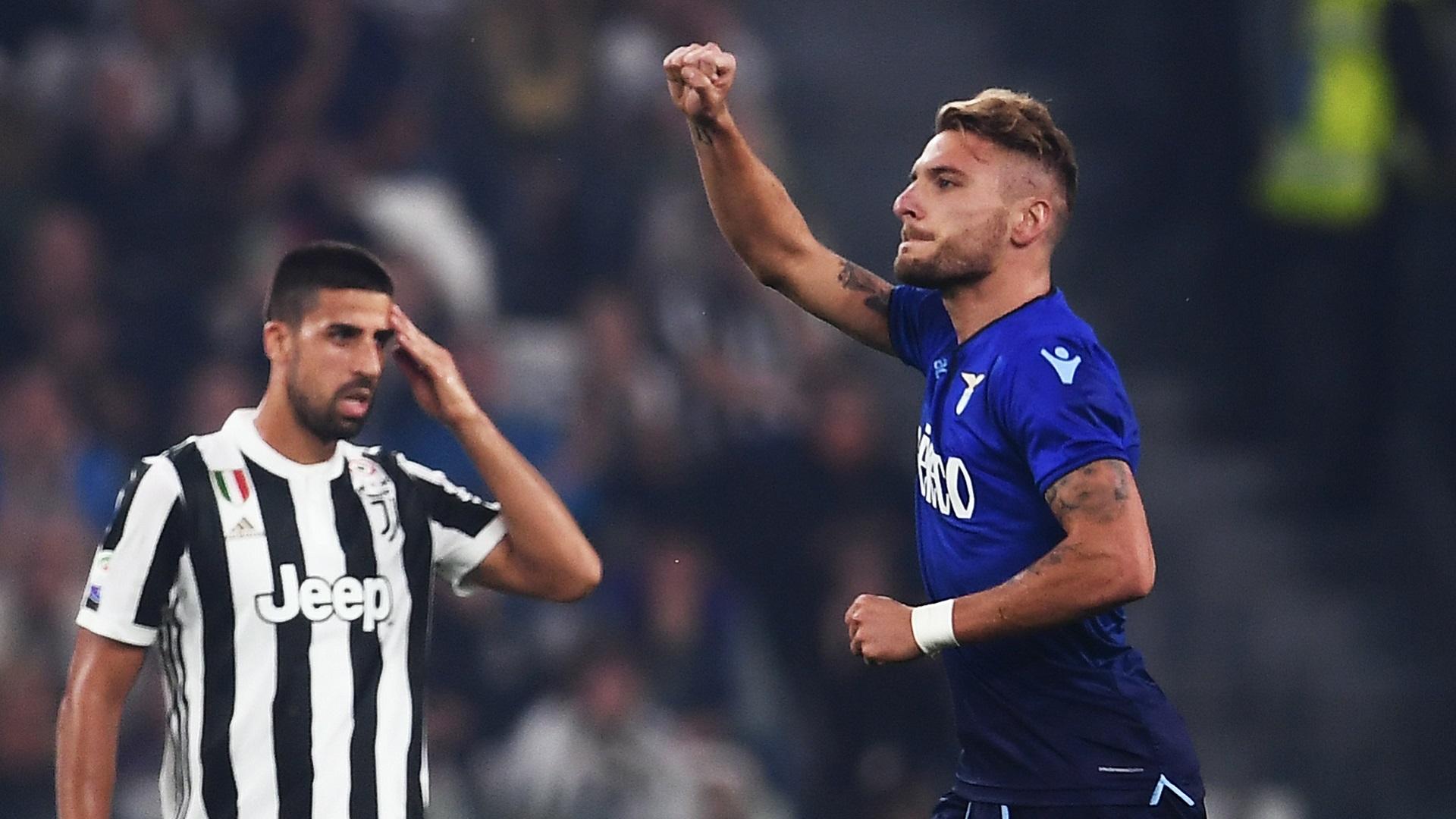 Lazio vence a la Juventus de la mano de Inmobile