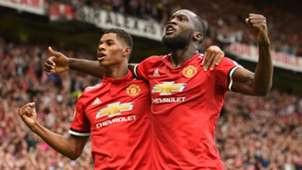 Marcus Rashford, Romelu Lukaku, Man Utd