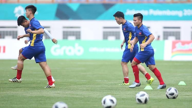 Olympic Việt Nam Olympic Pakistan Bảng D ASIAD 2018