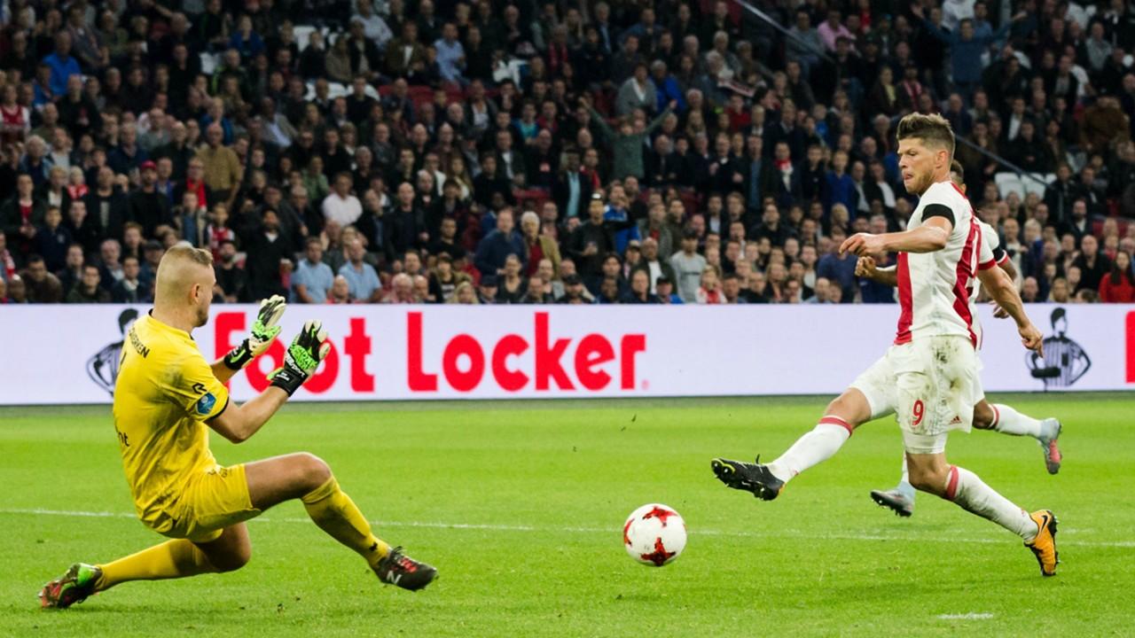 Roy Kortsmit, Klaas Jan Huntelaar, Ajax - Sparta, Eredivisie, 15102017