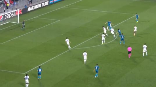 VIDEO-Highlights, Champions League: Olympique Lyon - Zenit St. Petersburg 1:1