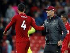 Van Dijk - Klopp - Liverpool