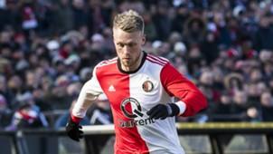 Nicolai Jörgensen, Feyenoord - PSV, Eredivisie 02252018