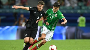 Jürgen Damm México - Nueva Zelanda