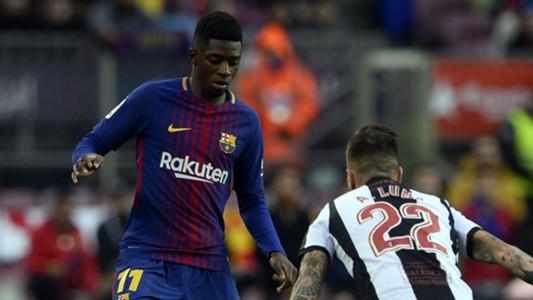 Ousmane Dembele Barcelona Levante