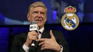 Arsene Wenger Real Madrid