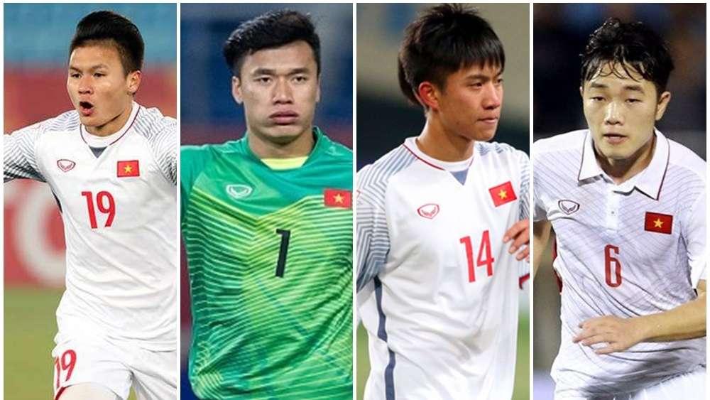 Top 7 U23 ở V.League 2018